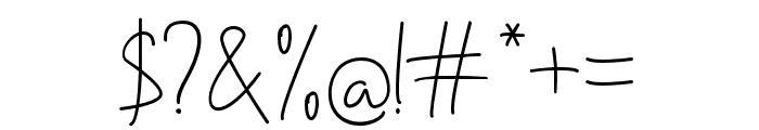 Handikraf Font OTHER CHARS