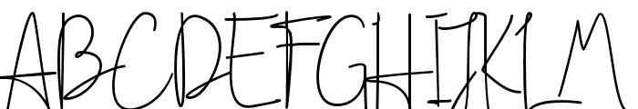 Handikraf Font UPPERCASE