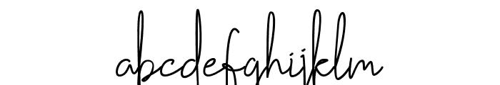 Handikraf Font LOWERCASE