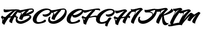 HangtuahAlternates Font UPPERCASE