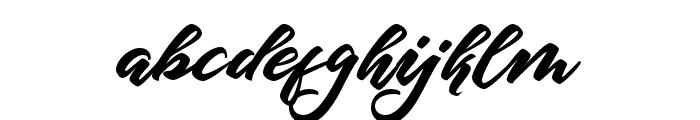 HangtuahAlternates Font LOWERCASE