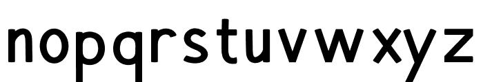 Hansville Bold Font LOWERCASE