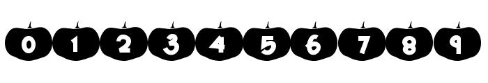 Happy Pumpkins Font OTHER CHARS
