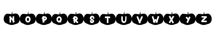 Happy Pumpkins Font UPPERCASE