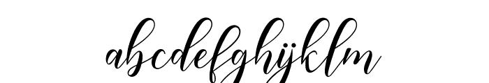 HappyChristmasScript Font LOWERCASE