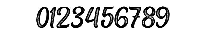 HappySnow-LetterPress Font OTHER CHARS