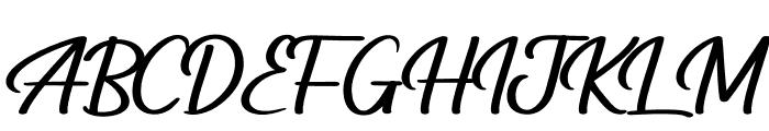 Hardstanding Font UPPERCASE