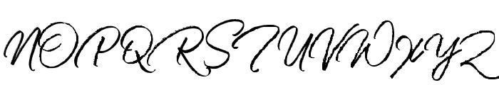Harista Font UPPERCASE