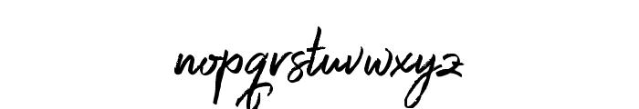 Harista Font LOWERCASE