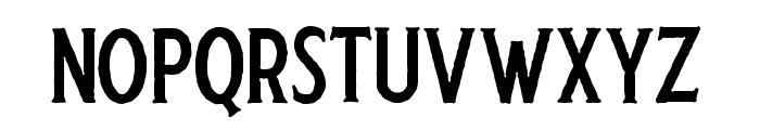 Harlend-Serif Rough Font LOWERCASE