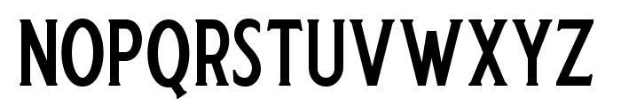 Harlend-Serif Font UPPERCASE