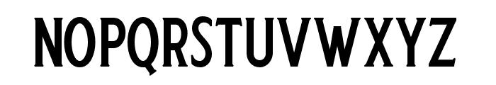 Harlend-Serif Font LOWERCASE