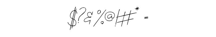 Harmony Alt Font OTHER CHARS