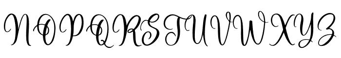 Harmony Family Font UPPERCASE