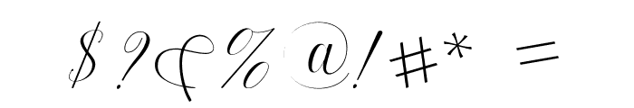 Harmony Font OTHER CHARS