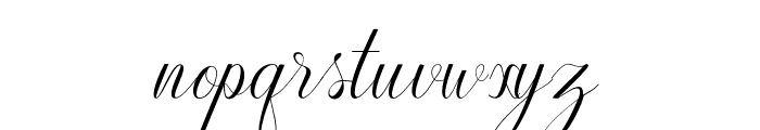 Harmony Font LOWERCASE