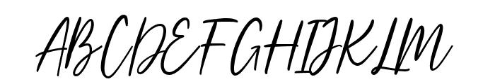 Harollds Font UPPERCASE