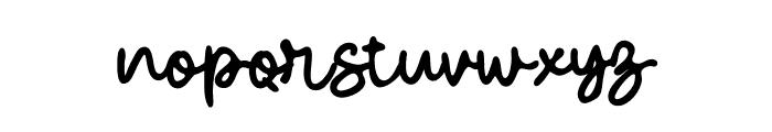 Haromer Font LOWERCASE