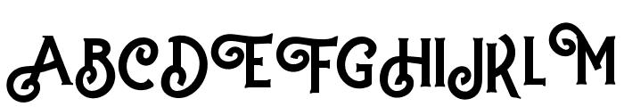 Hartons Regular Font UPPERCASE