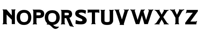Hartons Regular Font LOWERCASE