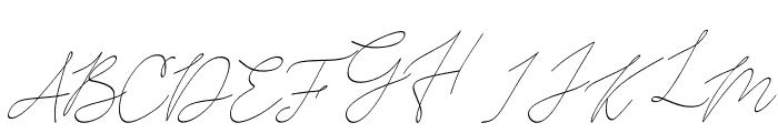 Harvest Curly Font UPPERCASE