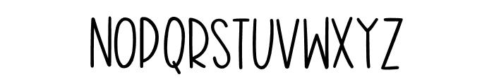 Harvest Delight Font UPPERCASE