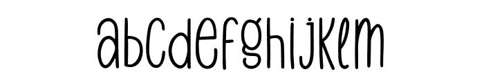 Harvest Delight Font LOWERCASE
