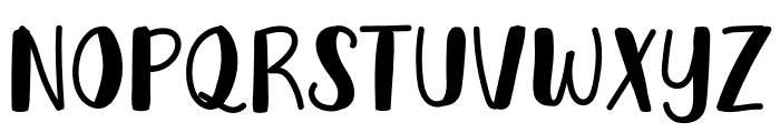 Harvestmoon Font UPPERCASE