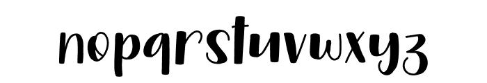 Harvestmoon Font LOWERCASE