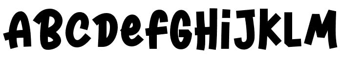 Harvestone-Regular Font LOWERCASE