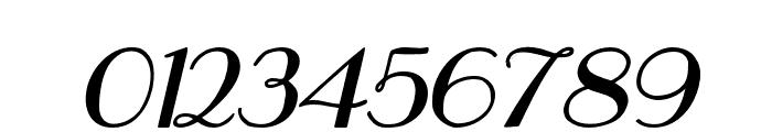 Hastungkoro-Italic Font OTHER CHARS