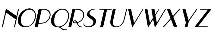 Hastungkoro-Italic Font UPPERCASE