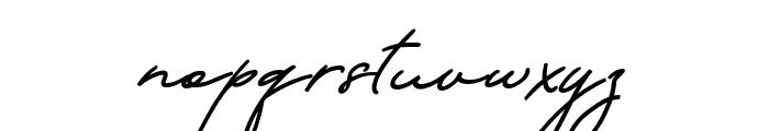 Hastungkoro-Script Font LOWERCASE