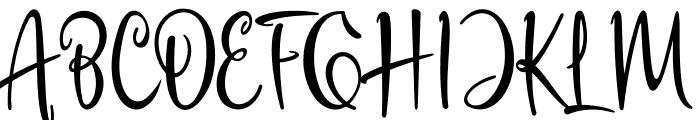 Havana Signature Font UPPERCASE