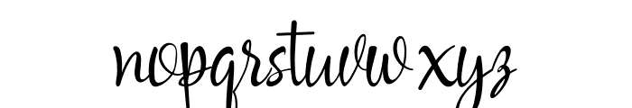 Havana Signature Font LOWERCASE