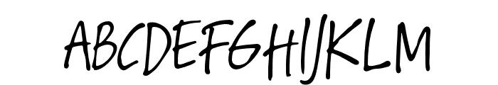 Hawaiian Script Regular Font UPPERCASE