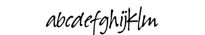 Hawaiian Script Regular Font LOWERCASE