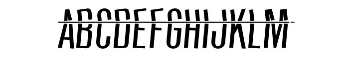 HeadShot Font UPPERCASE