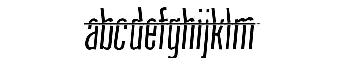 HeadShot Font LOWERCASE