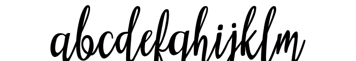 Heartfelt Font LOWERCASE