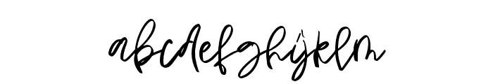 Heaven moon Regular Font LOWERCASE