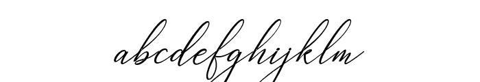 Heavenly -BoldItalic Font LOWERCASE