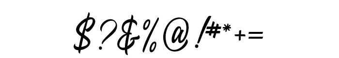 Heavenly-Regular Font OTHER CHARS