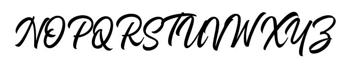 Heavenly-Regular Font UPPERCASE