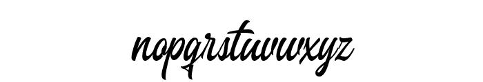 Heavenly-Regular Font LOWERCASE