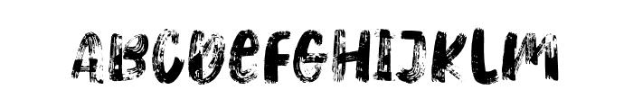 HeavyRelic-Regular Font LOWERCASE