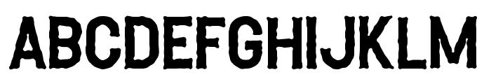 Heller-Rough Font UPPERCASE