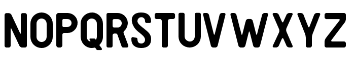Heller-Round Font LOWERCASE