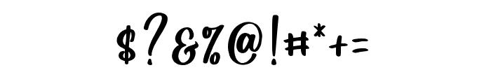 Hello Calanthe Regular Font OTHER CHARS
