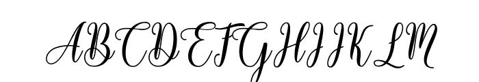 Hello Falisha Font UPPERCASE